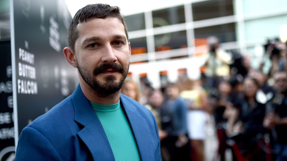 Shia LaBeouf reveals he was diagnosed with PTSD as a child star