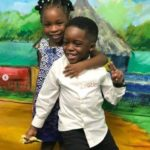 Davido's Daughter And Tiwa Savage's Son Toast To Friendship In Cute Video