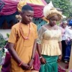 17-Year-Old Boy Marries 16-Year-Old Fiancee In Nnewi