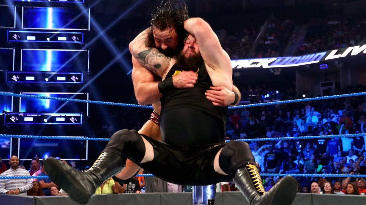 Drew McIntyre got more than he bargained for in his match against Kevin Owens
