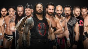 The Raw and Smackdown teams for WWE Survivor Series