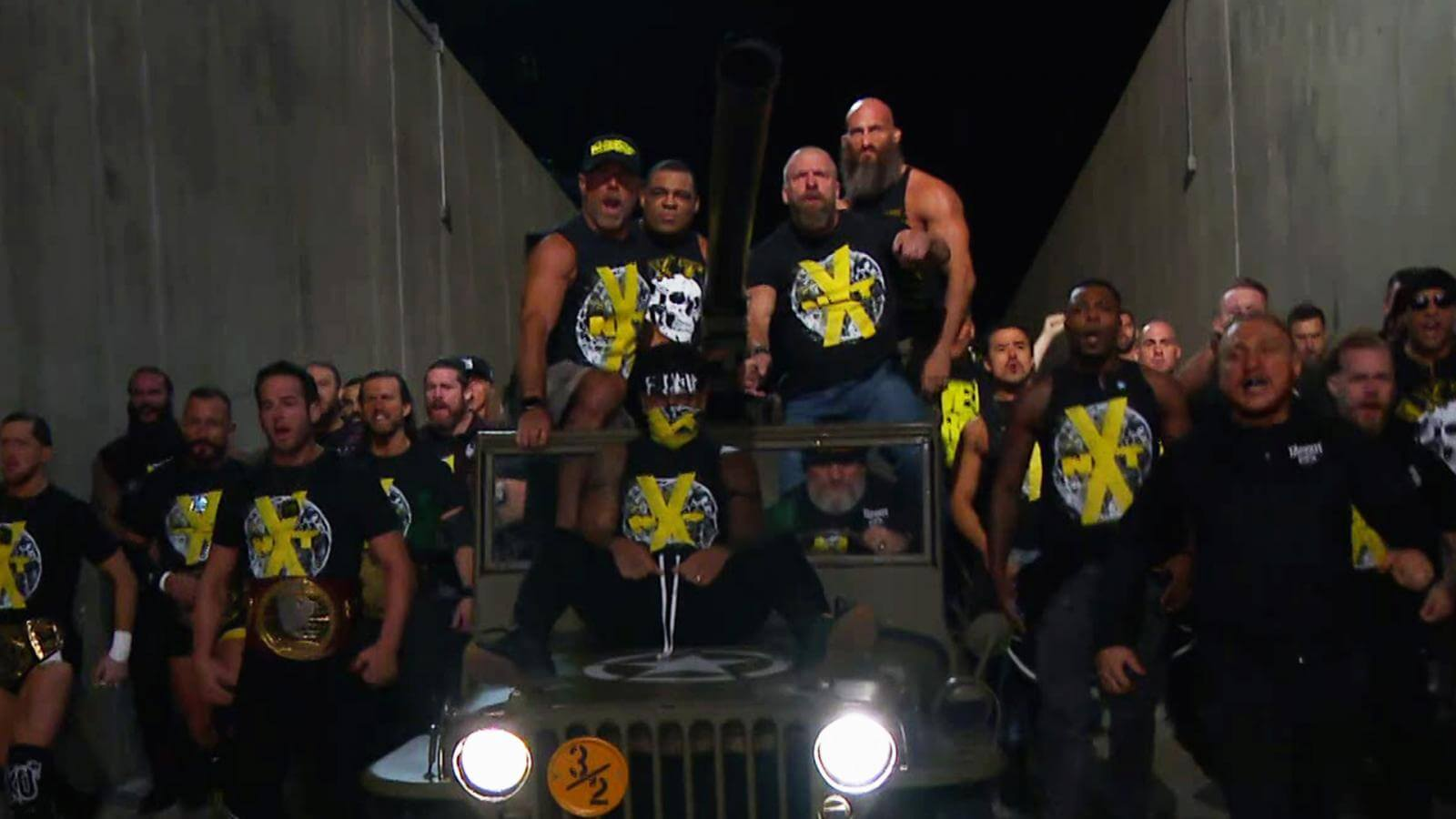 NXT once again made an entrance