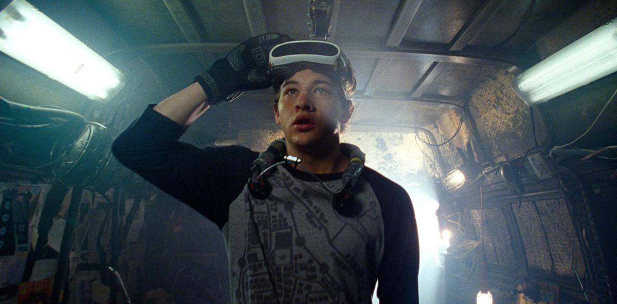 Sheridan as the hero in Ready Player One