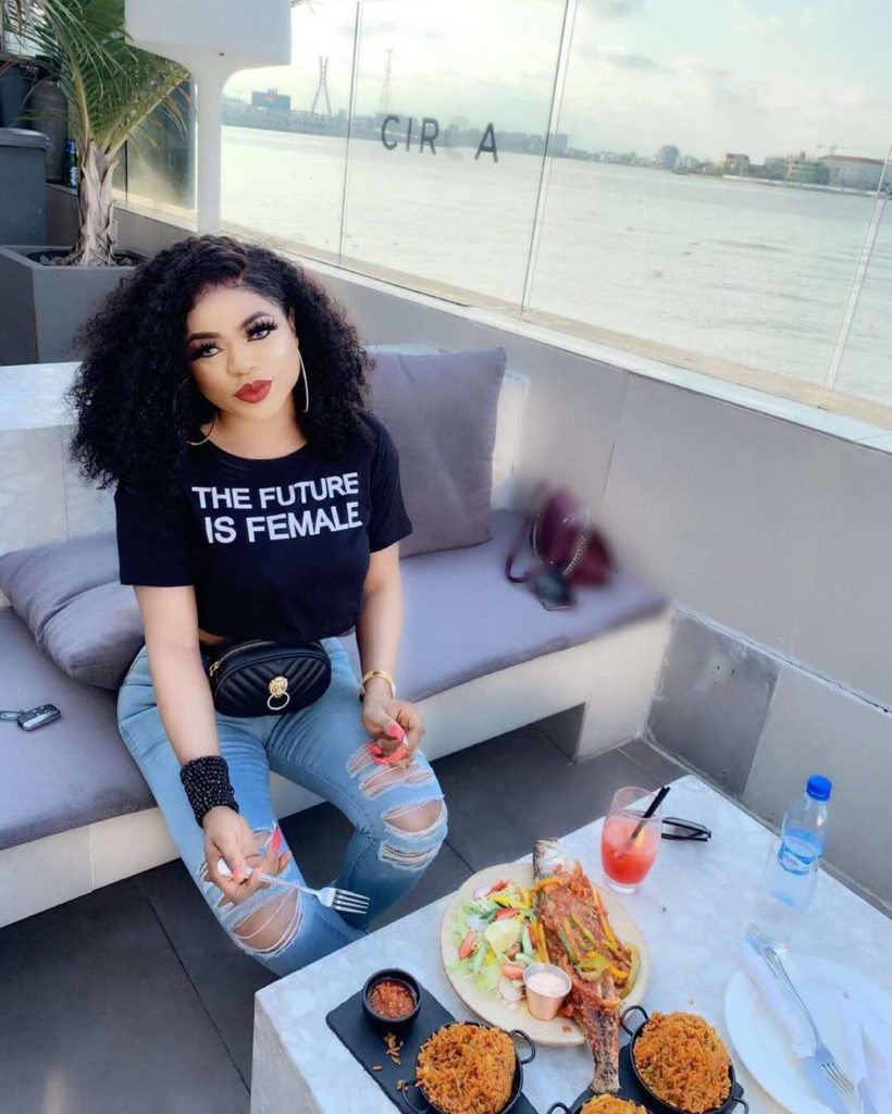 Bobrisky shows off his bank statement proving he spent N30million in six months