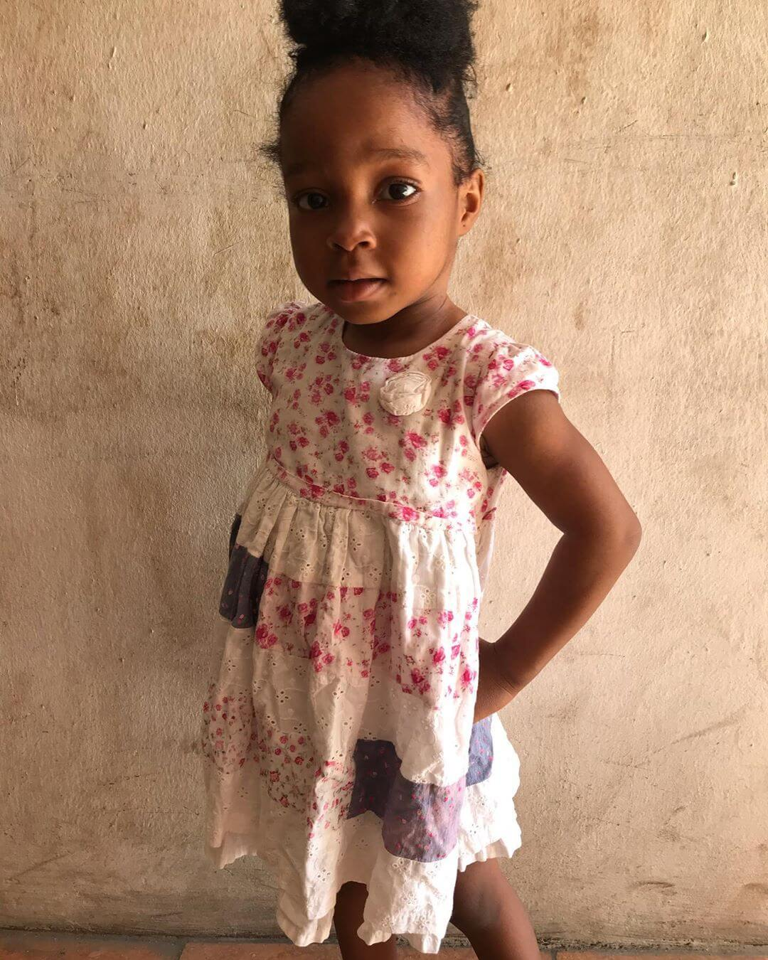 The 3-year-old daughter, Stephanie Chidinma