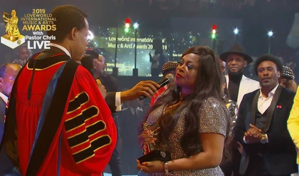 Sinach delivers a baby after five years of marriage