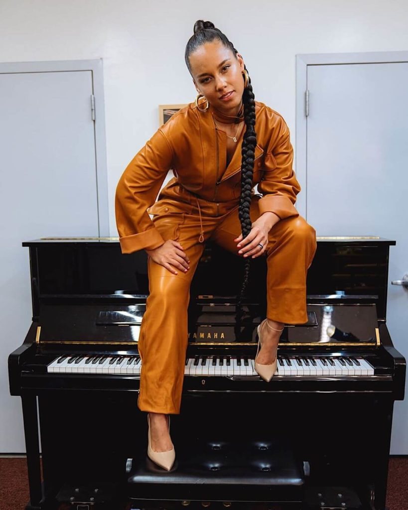 Alicia Keys to host Grammys for the 2nd consecutive time
