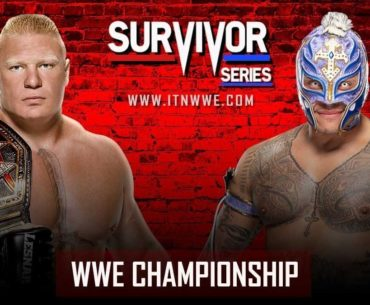 Brock Lesnar fights Rey Mysterio at Survivor Series 2019