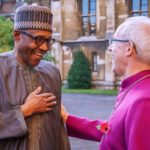 President Muhammadu Buhari and Archbishop of Canterbury Justin Welby