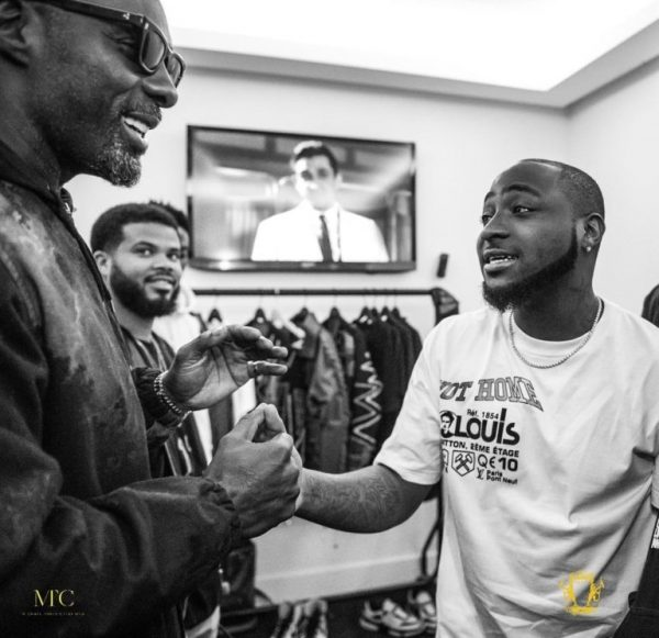 Davido and Idris Elba