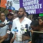 Deji Adeyanju on Free Sowore protest