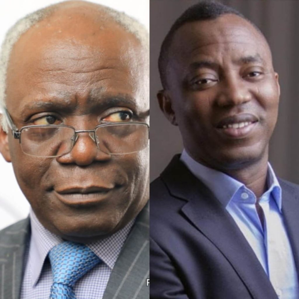 Falana alleges plot to bring up new charges against Sowore