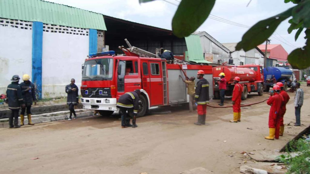 Fire service in lagos