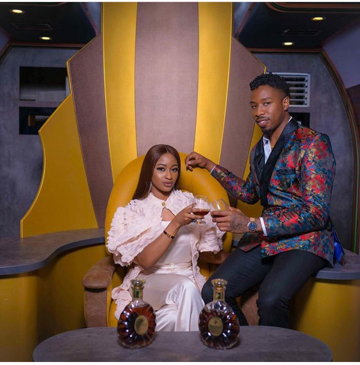 Ike and Kim Oprah sign deal with Remy Martin