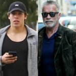 Arnold Schwarzenegger's son gushes about his father