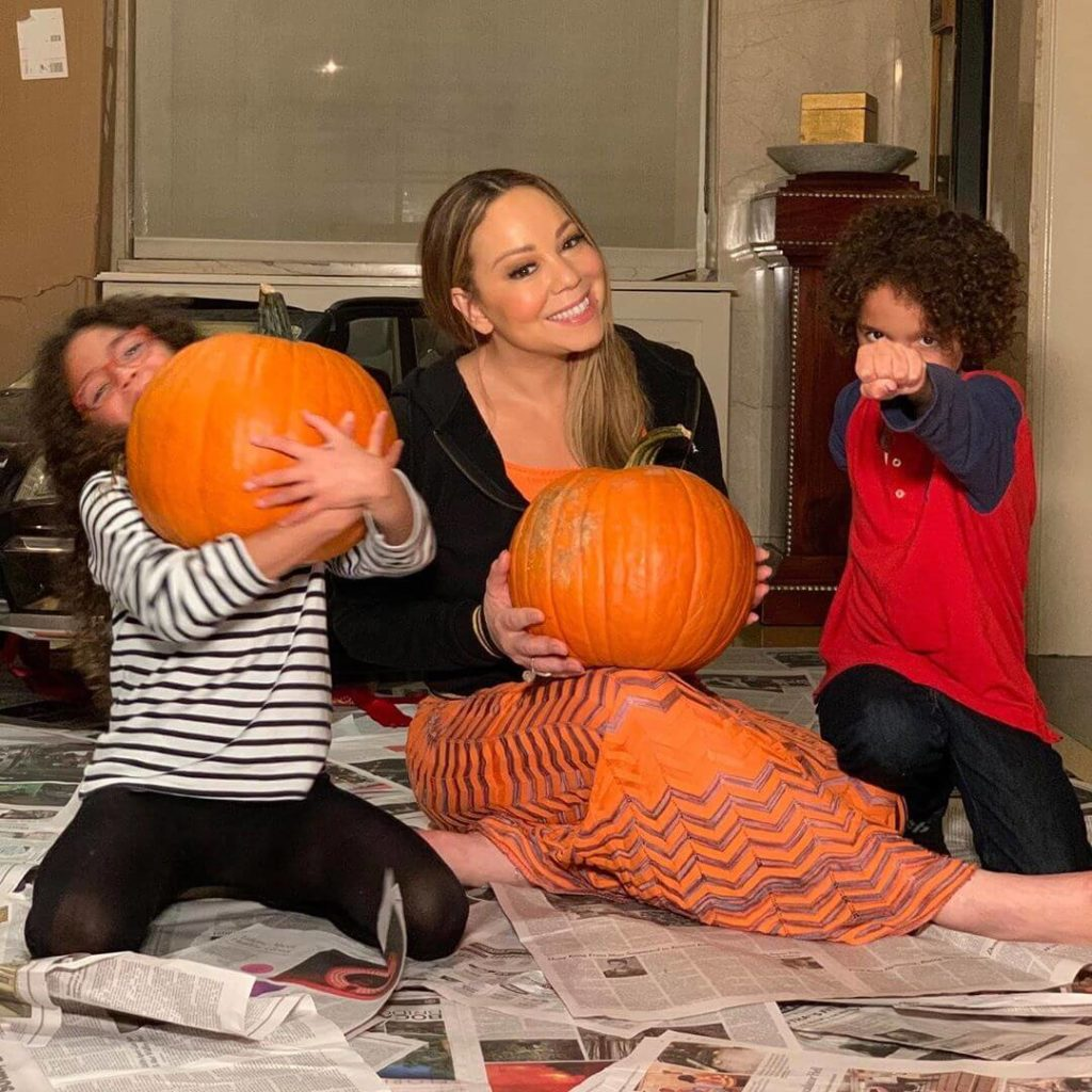 Mariah Carey gushes after her twins meet Milly Bobby Brown