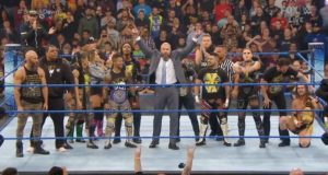 Triple H with his NXT team