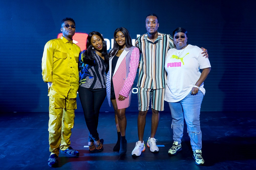 Simi Teni Reekado Banks others at YouTube Afrobeats event