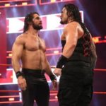 Roman Reigns clashes with Seth Rollins