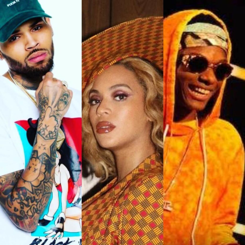 Chris Brown, Beyonce, and Wizkid win at the 2019 Soul Train Awards