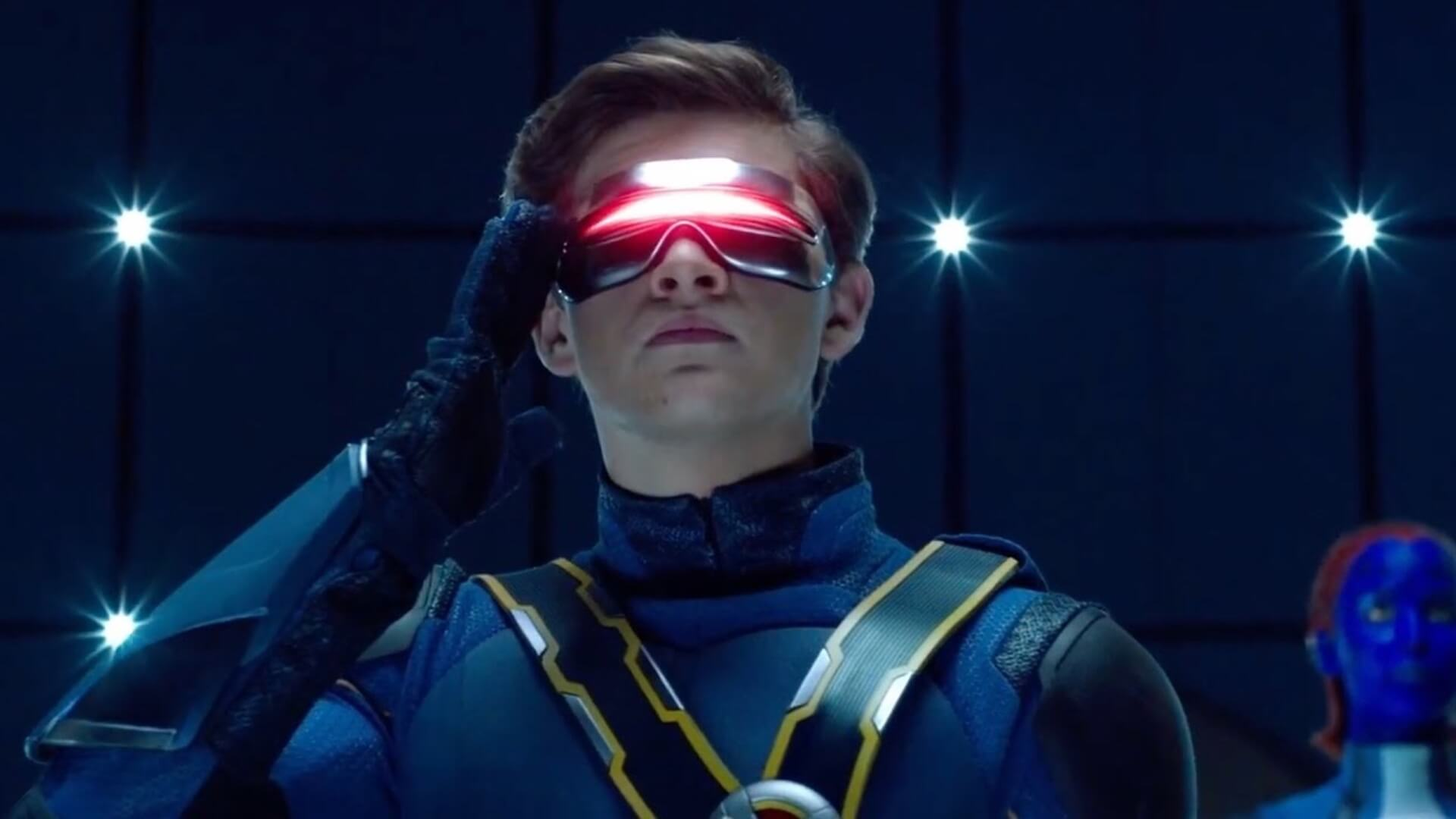 Sheridan as Scott Summers/Cyclops in X-Men Dark Phoenix