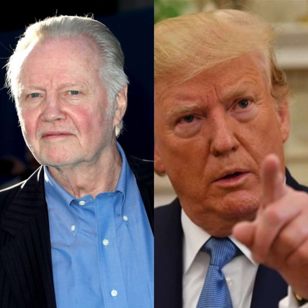 Jon Voight to be honored by President Trump