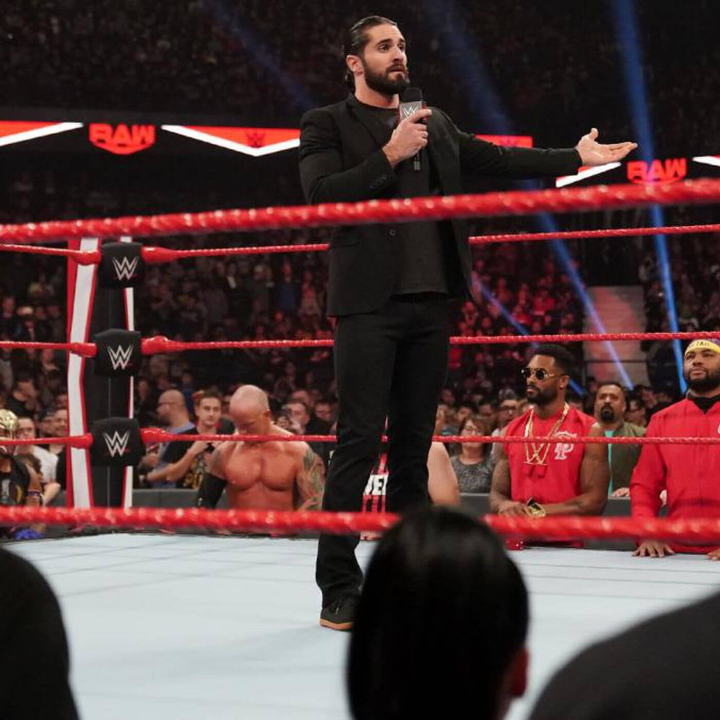 Seth Rollins was in a foul mood as he lashed out at fellow superstars