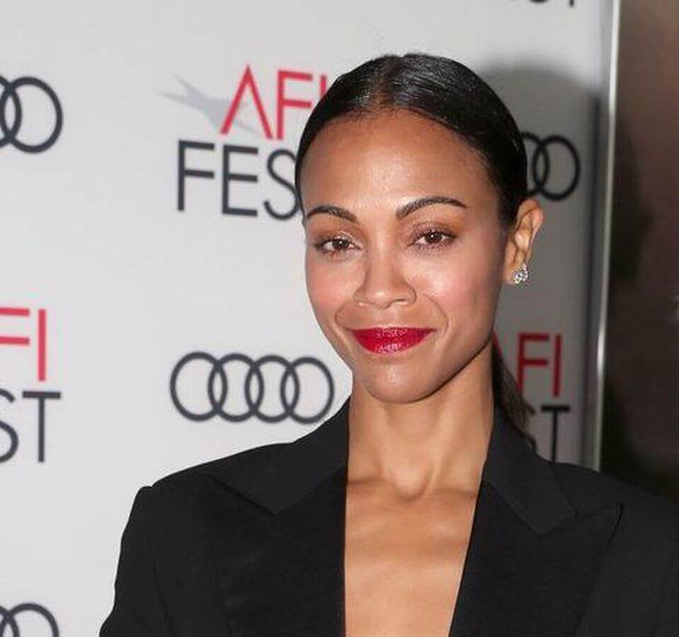 Zoe Saldana to star in fact-based thriller