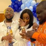 """I'm Deeply In Love"", Davido Professes To Chioma At Son's Naming"