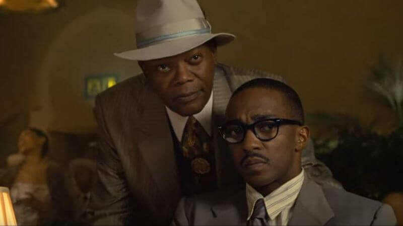 Anthony Mackie and Samuel L. Jackson star in The Banker