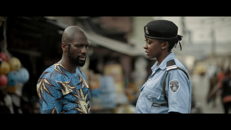 Kate Henshaw as the officer involved in a murder case
