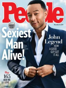 The Sexiest Man Alive Magazine Cover