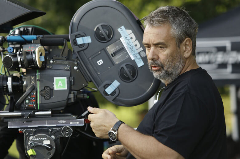 Besson behind the camera