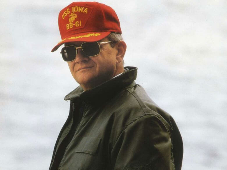 The late Tom Clancy