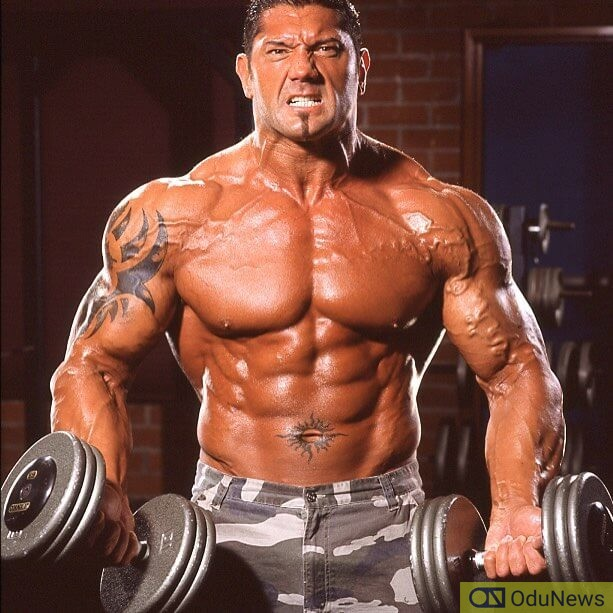 Dave Bautista was known as Batista during his wrestling days