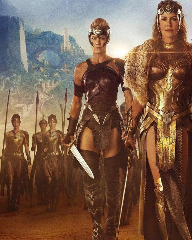 The Amazon warriors of Themyscira