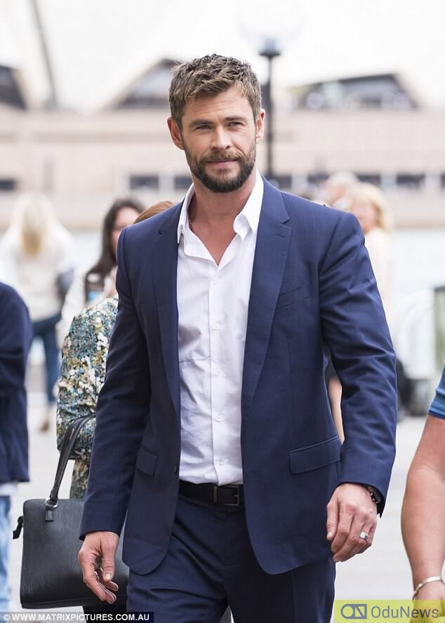 Thor actor, Chris Hemsworth