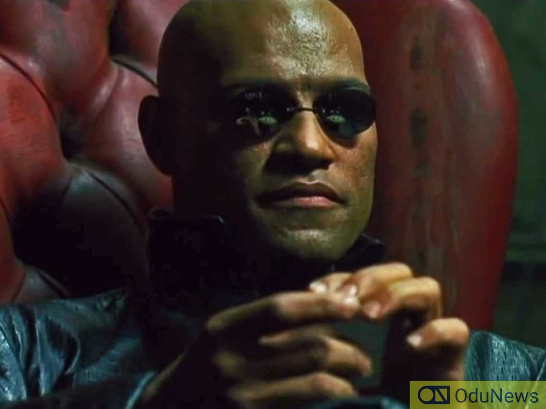 The role of Morpheus was originally played by Laurence Fishburne