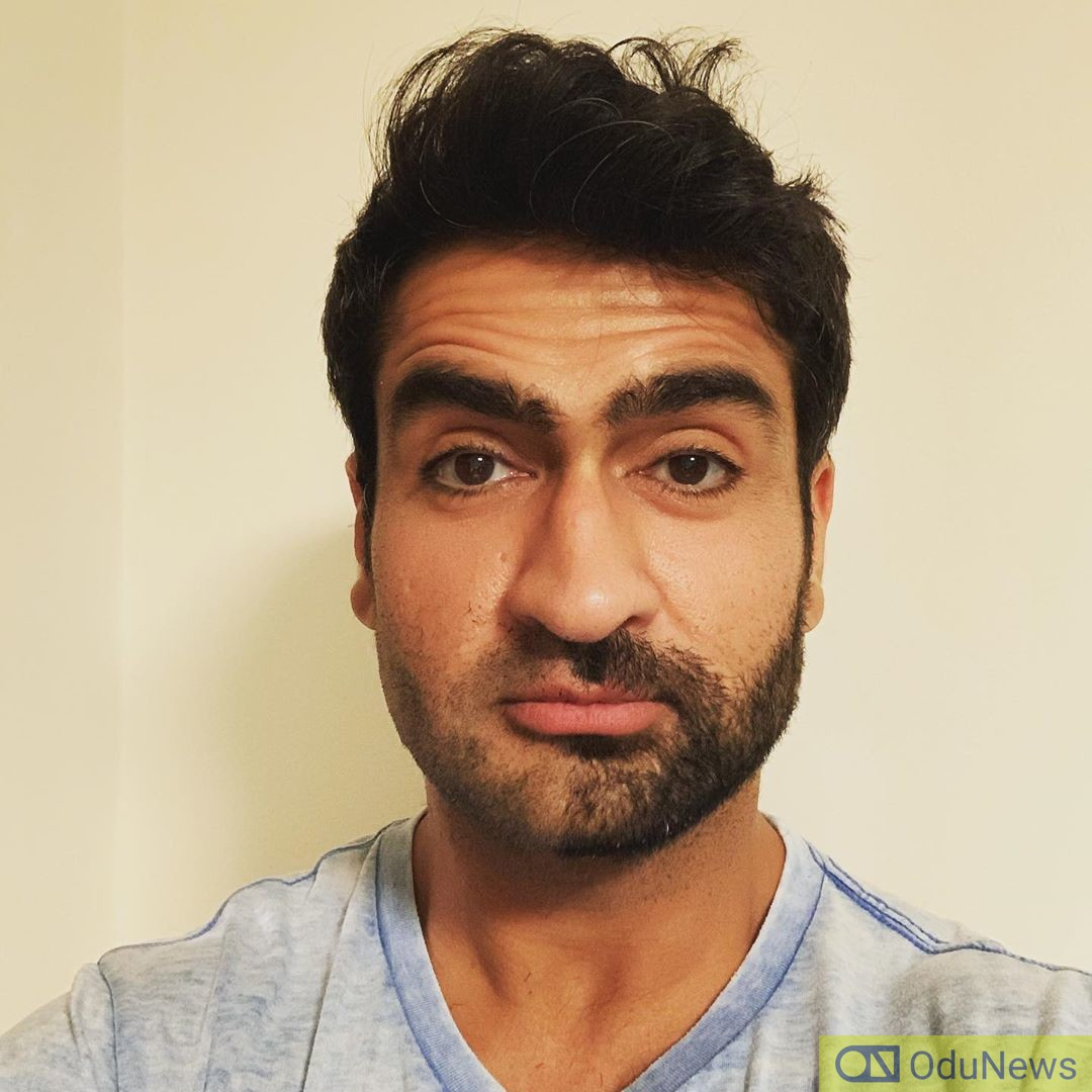Actor Kumail Nanjiani hit the gym and the result is impressive