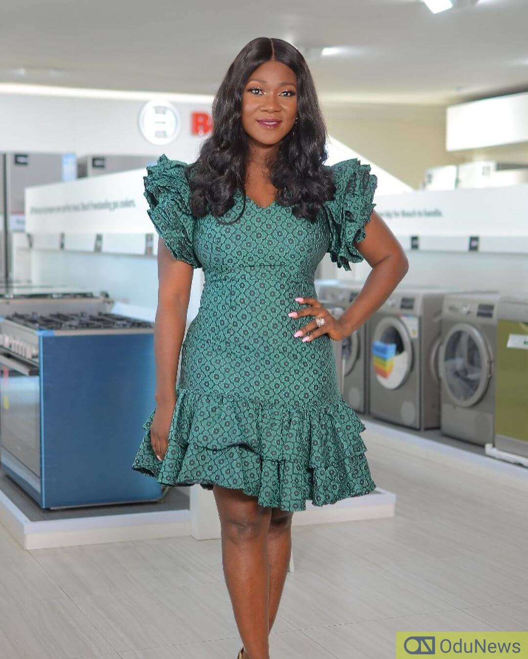 Mercy Johnson Okojie makes her debut as a producer in the industry with THE LEGEND OF INIKPI