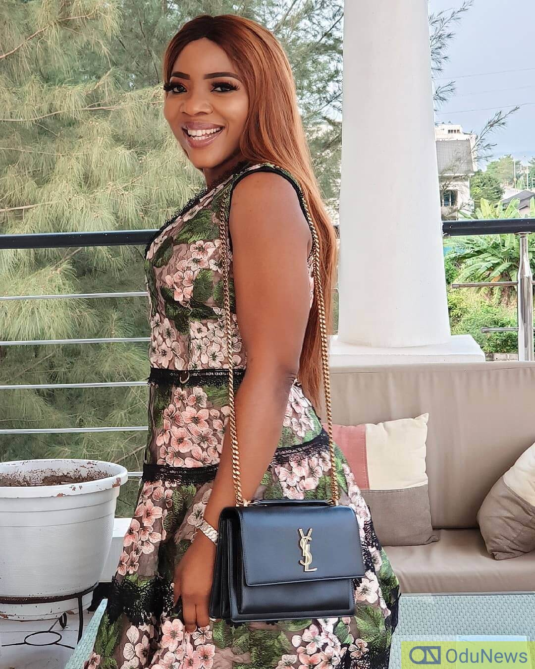 Sandra Ikeji will soon become a Mrs. and her big sister has some sweet words for her