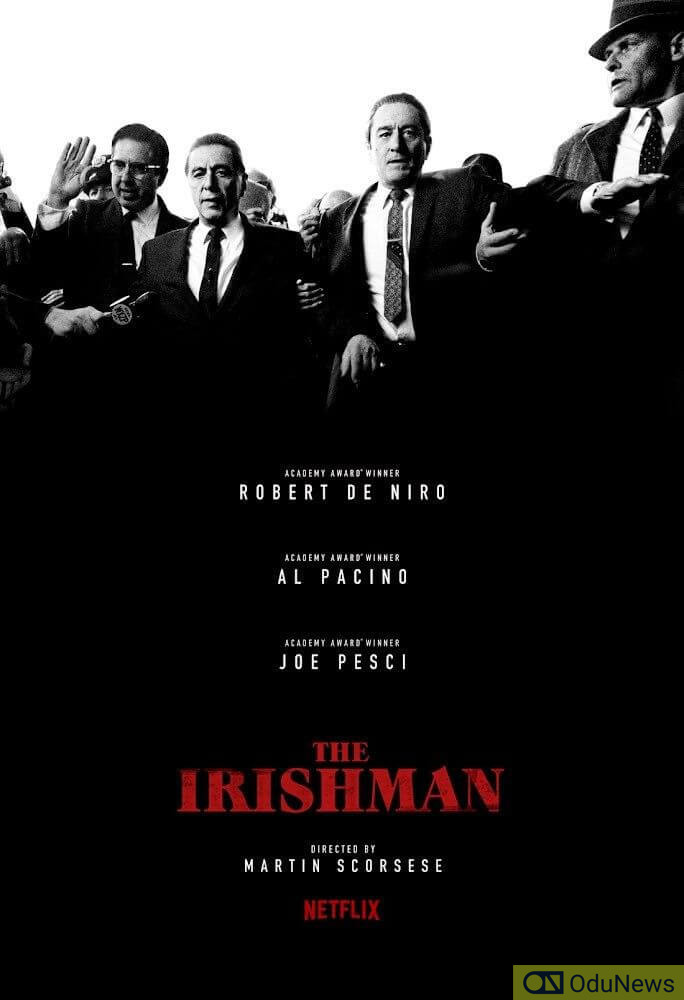 The de-aging technology used in The Irishman is astonishingly convincing