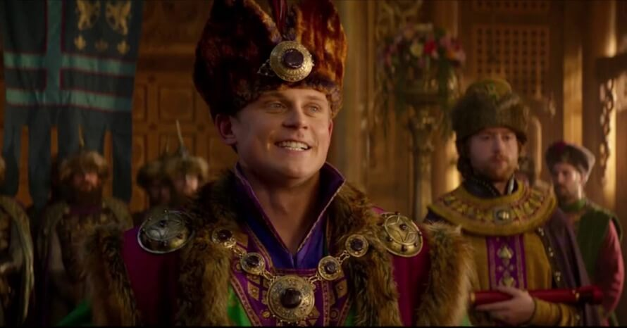 The new project will focus on the character of Prince Anders from the Aladdin movie