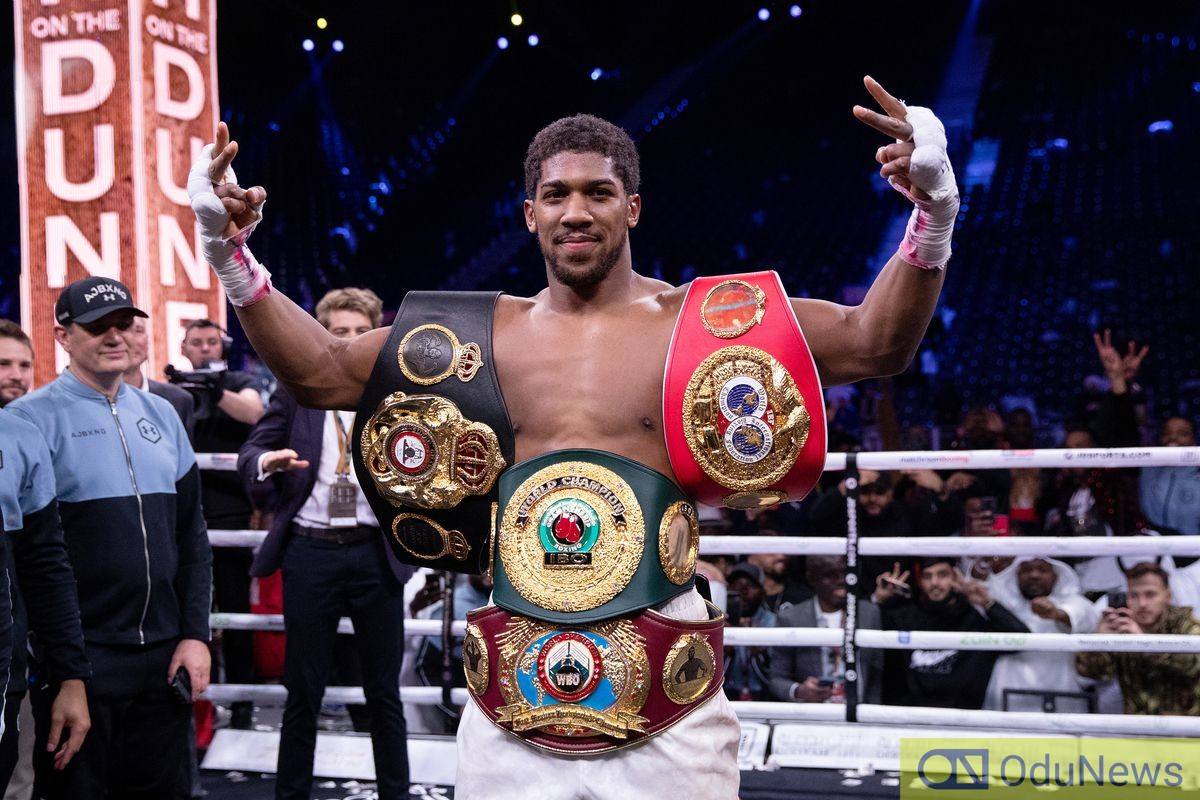 Anthony Joshua Reveals Boxer Who Would Defeat Him