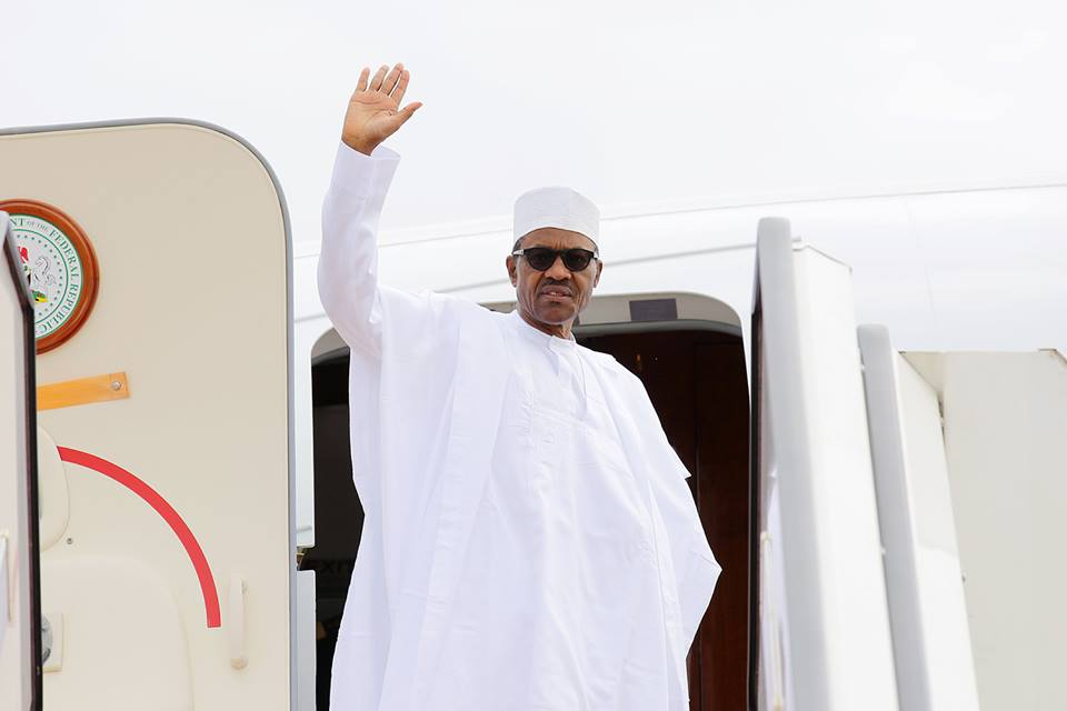 Buhari Leaves Nigeria For Mali On Peace Mission