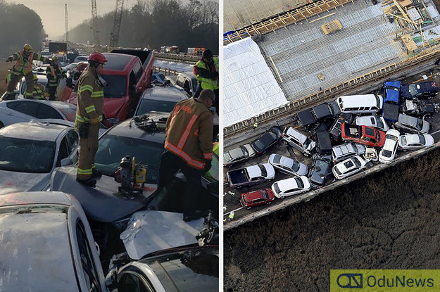 [VIDEO] Over 50 Injured As 69 Cars Crash In Virginia