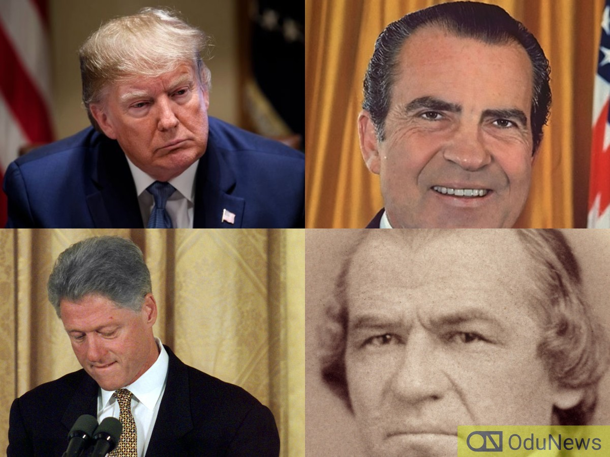 Impeached US Presidents And What They Did