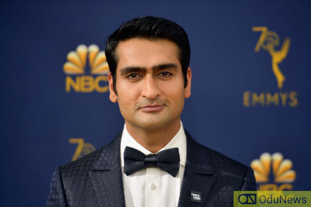 Kumail Nanjiani reveals buff physique