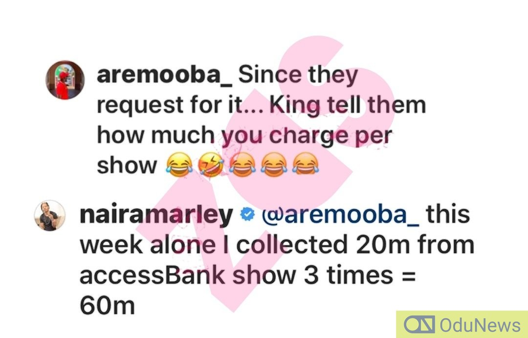 See How Much Naira Marley Charges For Shows