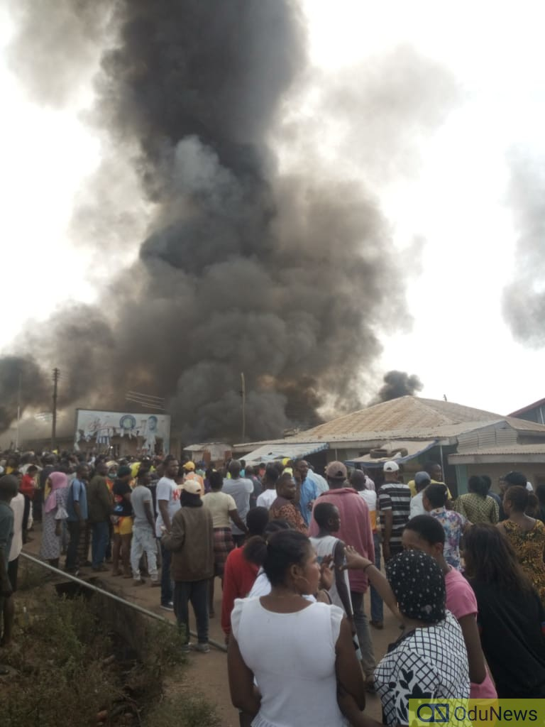 Mob Kills Policeman, Burns Down Church In Ondo